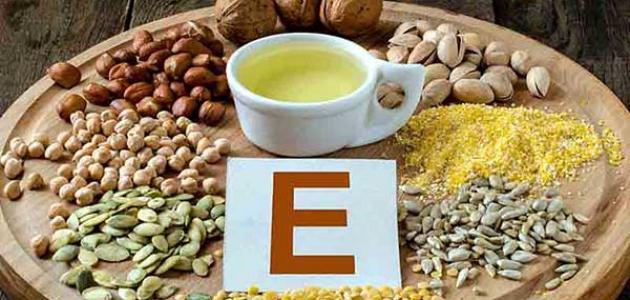 فوائد فيتامين E