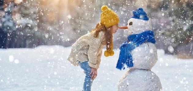 موضوع إنشاء عن فصل الشتاء