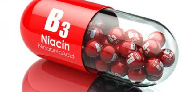 أعراض نقص فيتامين B3