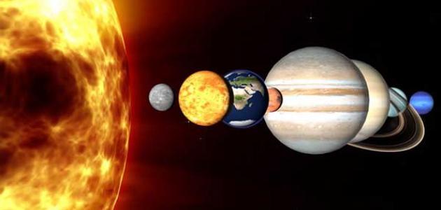 موضوع عن الكواكب