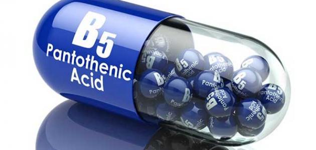 أضرار فيتامين B5