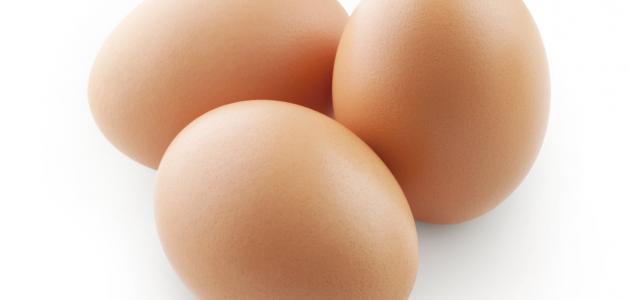 أعراض حساسية البيض لدى الكبار