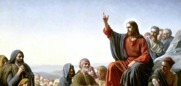 موضوع إنشاء عن النبي عيسى