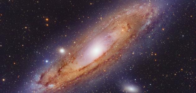 حجم مجرة درب التبانة