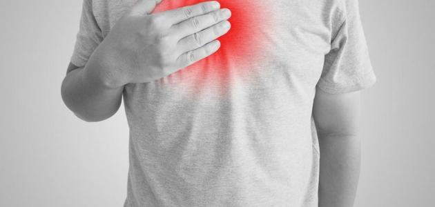 أسباب الشعور بحرقة في القفص الصدري