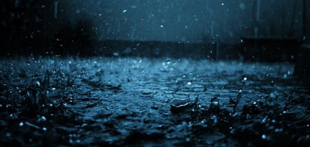 الرمز في قصيدة المطر