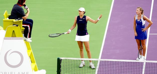 قوانين التنس