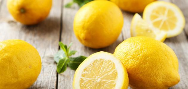 السعرات الحرارية في الليمون