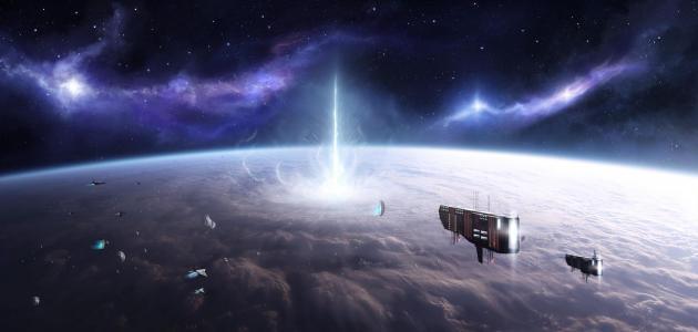 موضوع تعبير عن السفر إلى الفضاء في المستقبل