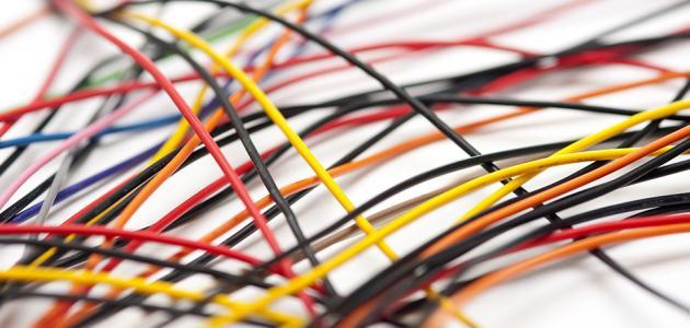 أنواع الأسلاك الكهربائية واستخداماتها