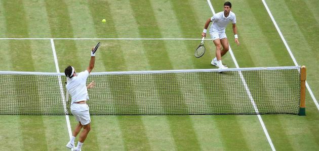 لعبة التنس الأرضي للرجال